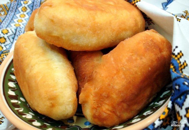 пирожки с картошкой и капустой жареные на сковороде