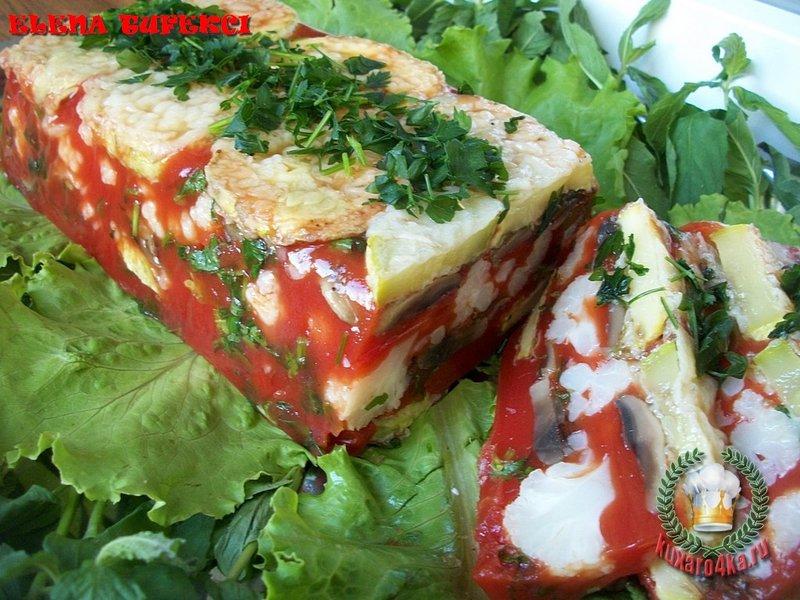 Овощной холодец рецепт с фото