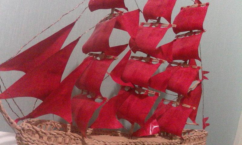 Алые паруса корабль своими руками