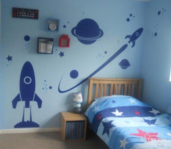 Как украсить комнату для мальчика
