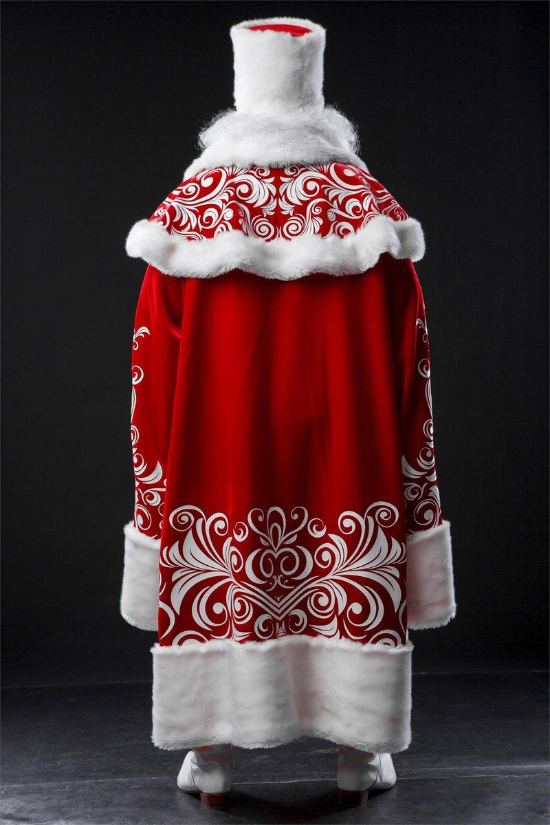 Из какой ткани лучше сшить костюм деда мороза