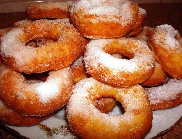 Рецепт как сделать пончики из творога