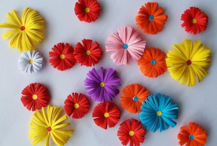 В детском саду цветы своими руками