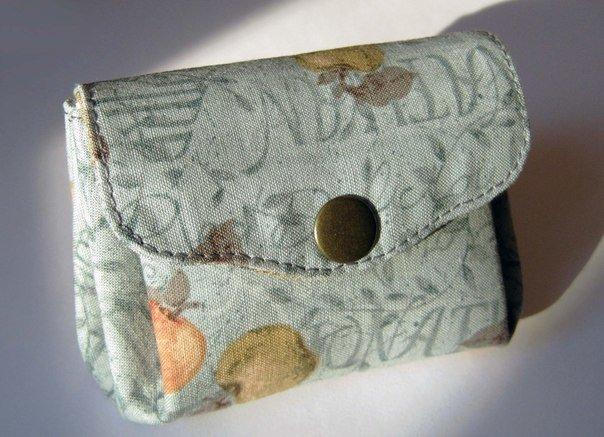 Сшить кошелёк для мелочи 30