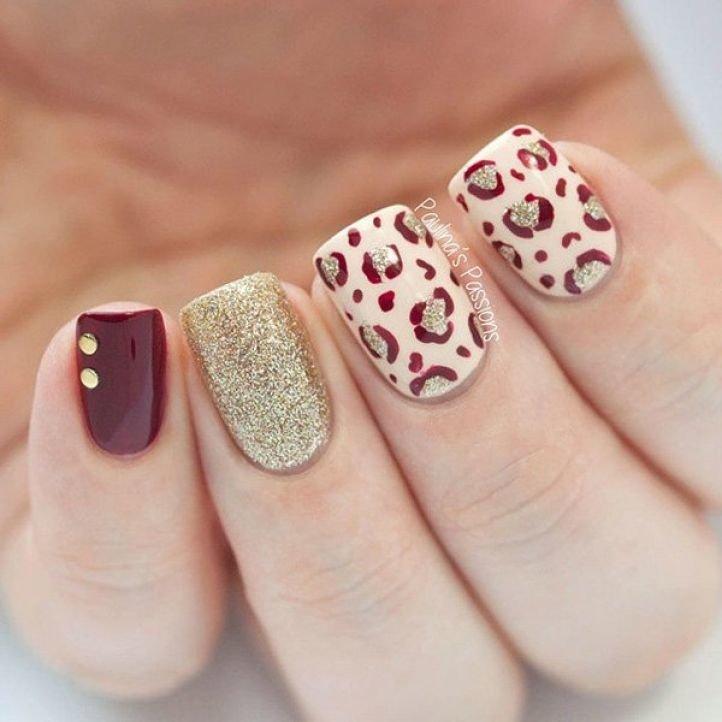 Шеллак Леопардовый Дизайн