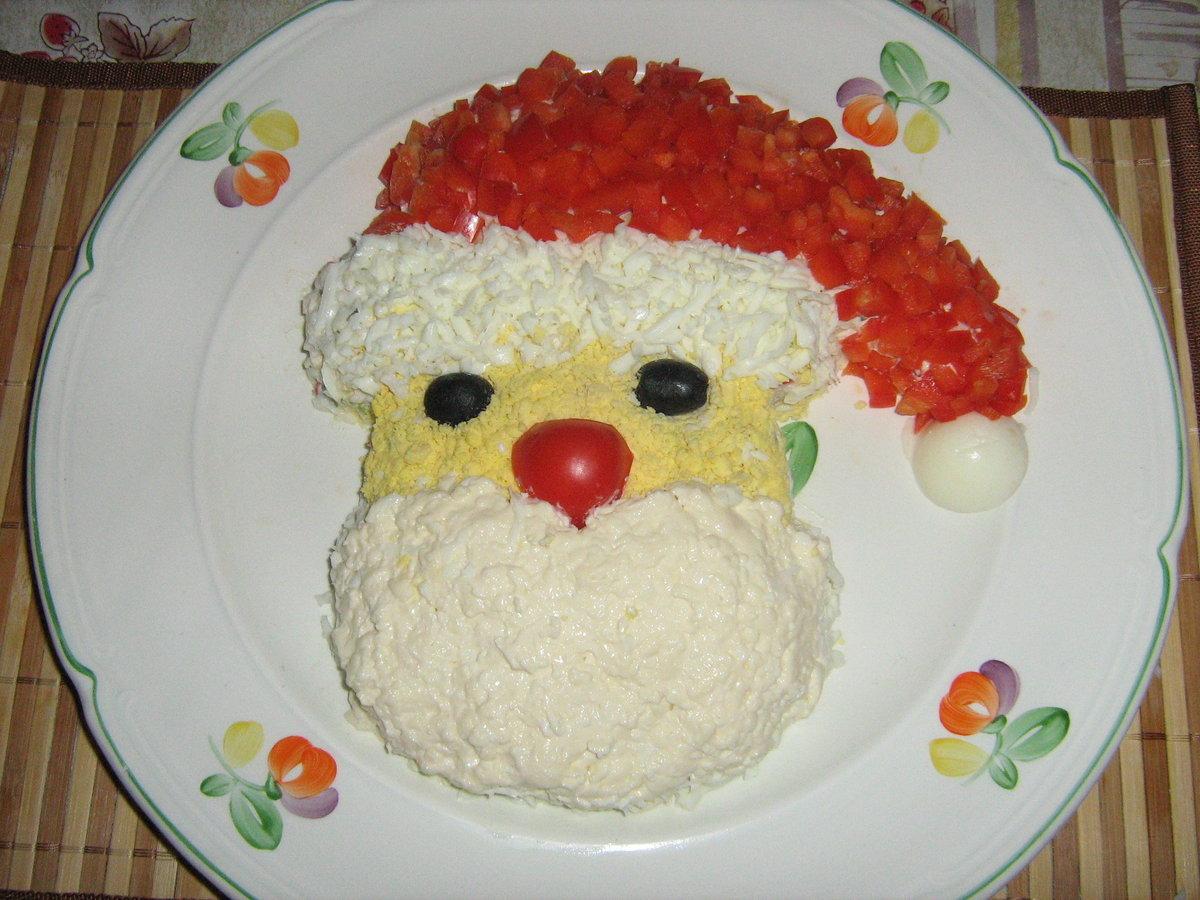 Как делать украшение салатов
