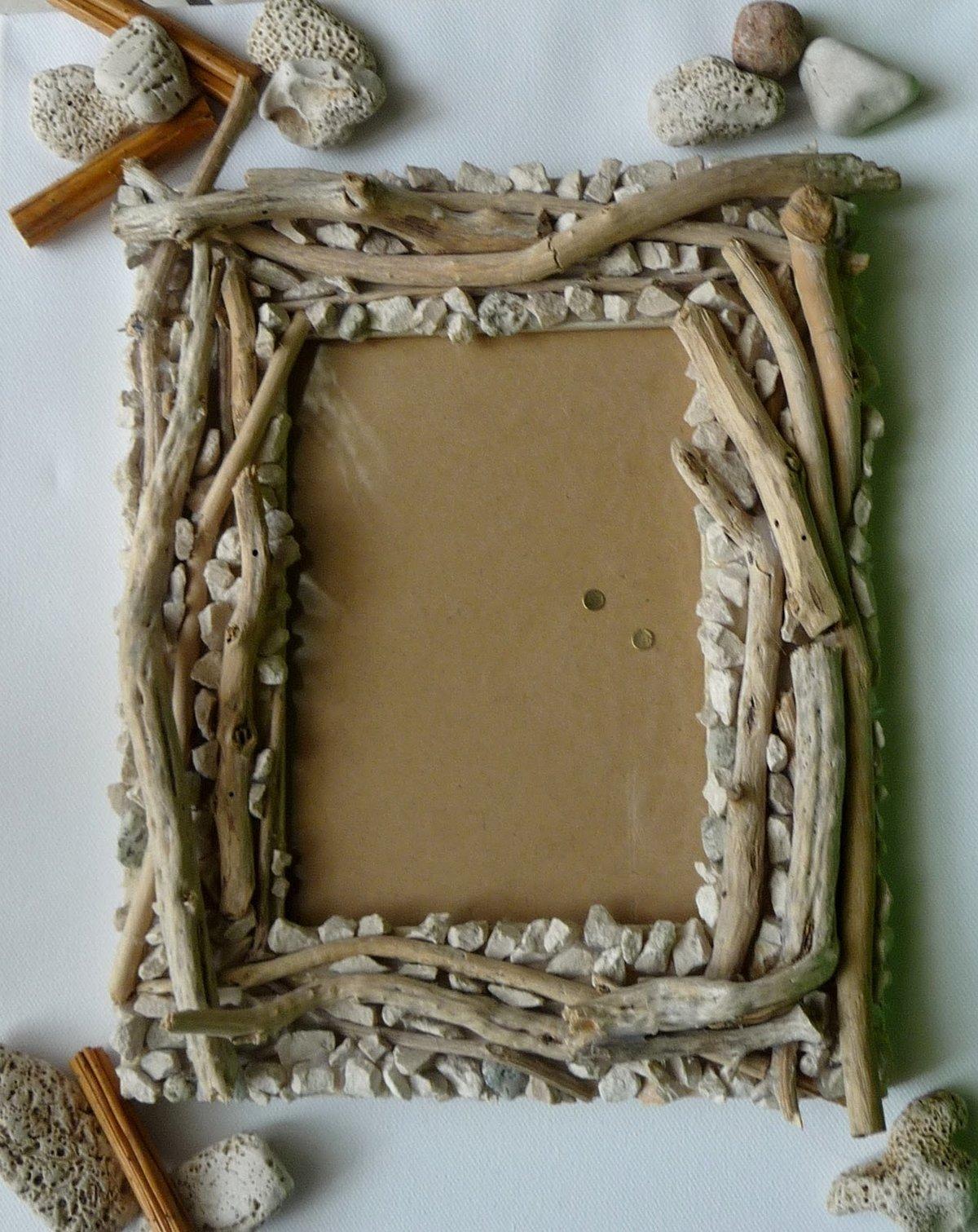 Поделки из природного материала рамки для фото