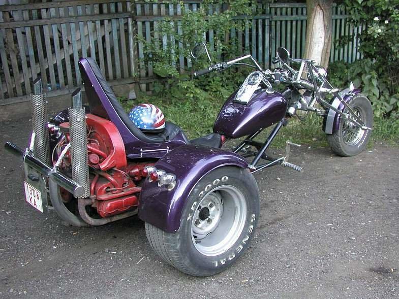 Мотоцикл своими руками ютуб 35