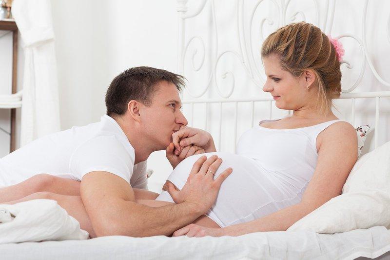 Беременность- я, мой муж и наш животик