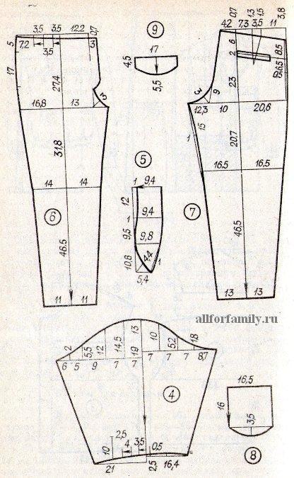 Как сшить мужские брюки своими руками 922