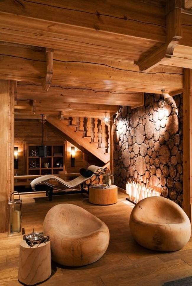 Дома из дерева и их дизайн