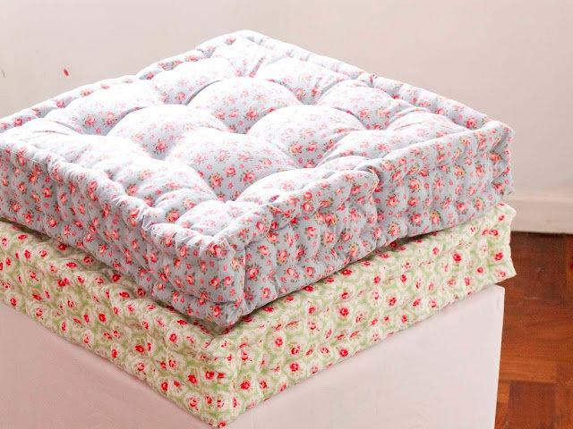 Напольные подушки мастер класс