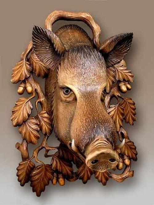 Голова кабана своими руками