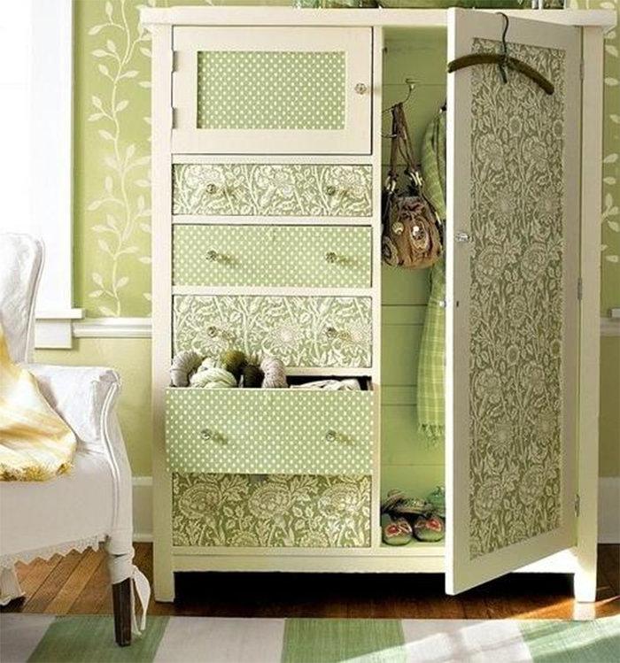 Декорировать мебель своими руками