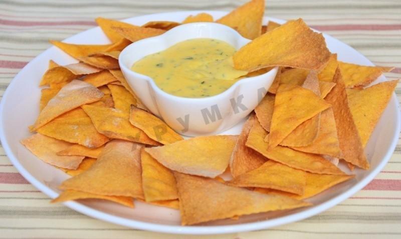 Сырный соус к начос своими руками 11