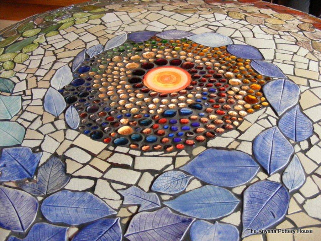 Мозаика своими руками из остатков плитки своими руками 24