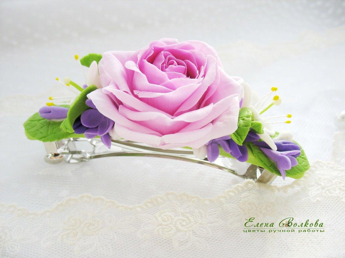 Красивые заколки цветы фото