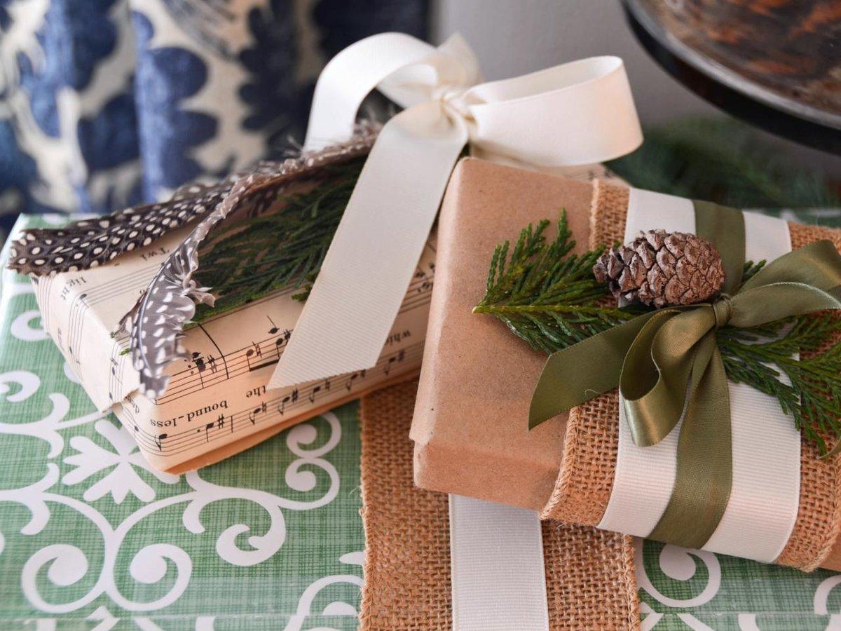 Оформление подарков упаковка 57