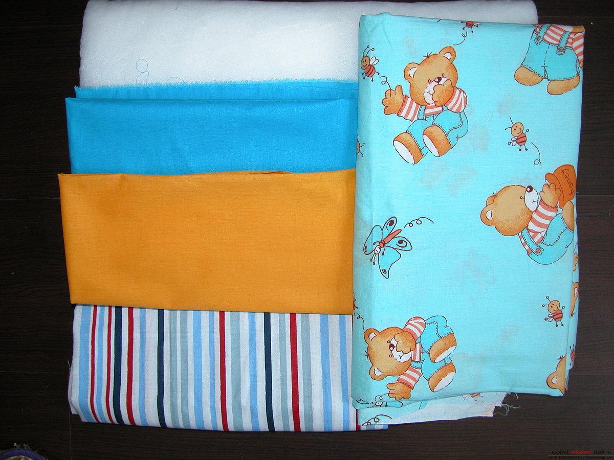 Пошив детского одеяла своими руками