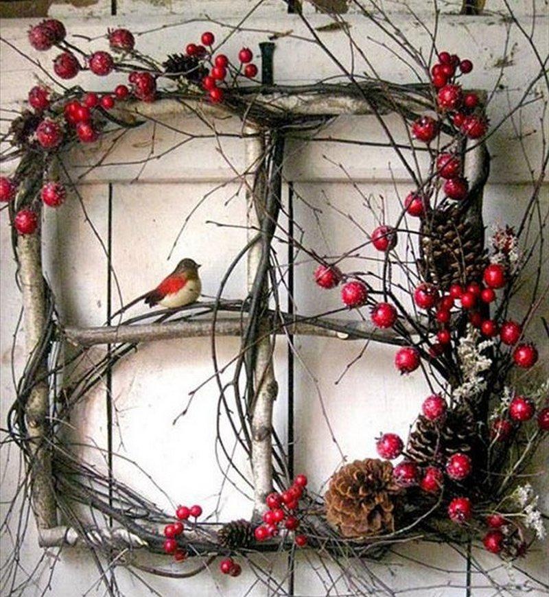 Декор из веток деревьев своими руками 335