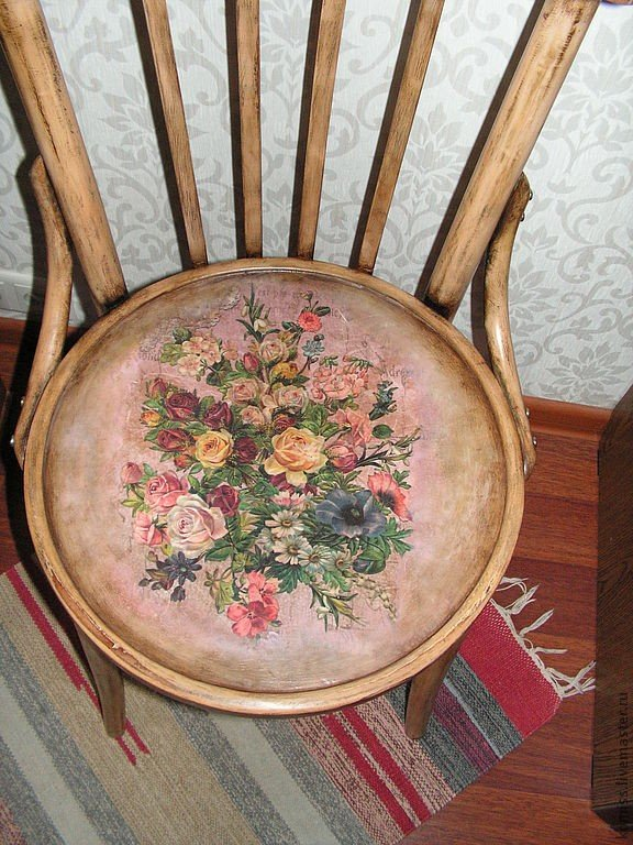 Декупаж венские стулья 199