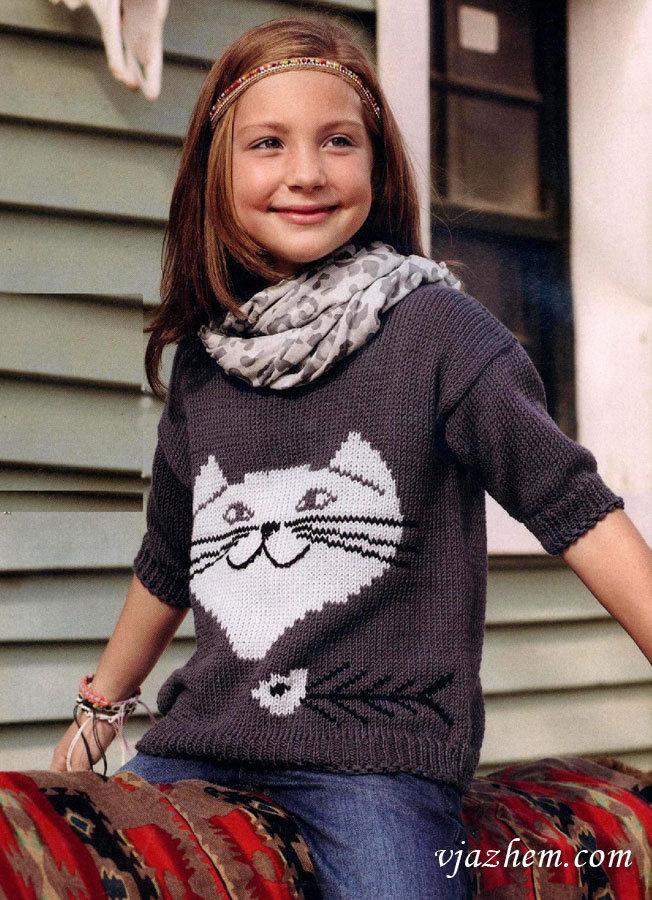 Вязание для девочки-подростка спицами 143