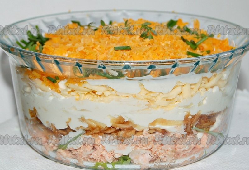 Рецепты салатов с по министерски