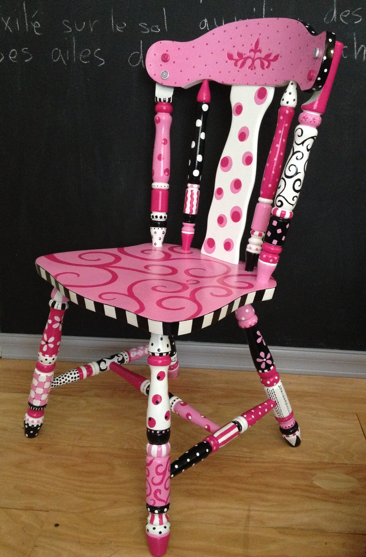 Как задекорировать старый стул своими руками