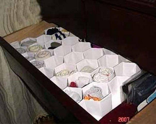 Коробка для хранения нижнего белья своими руками фото
