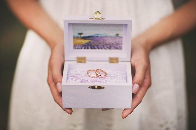 Коробка для фото свадебная своими руками