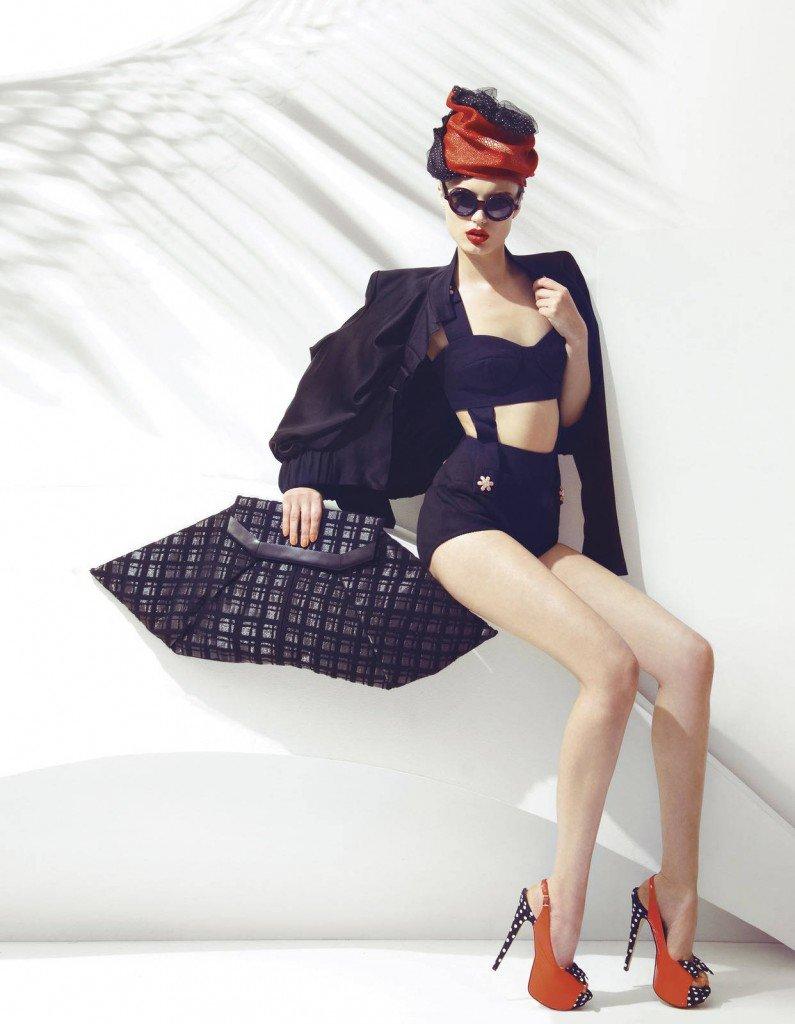 Ретро мода фото девушек