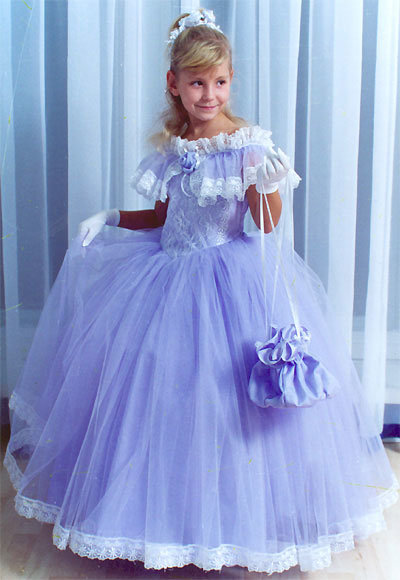 Сшить платье для принцессы для девочки