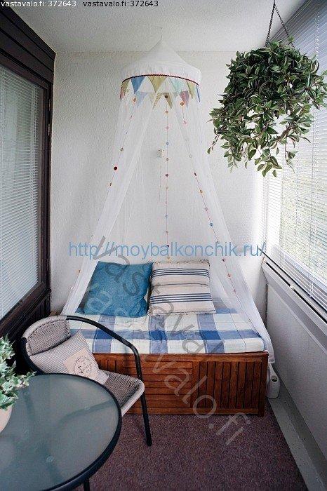 Комнату из балкона своими руками