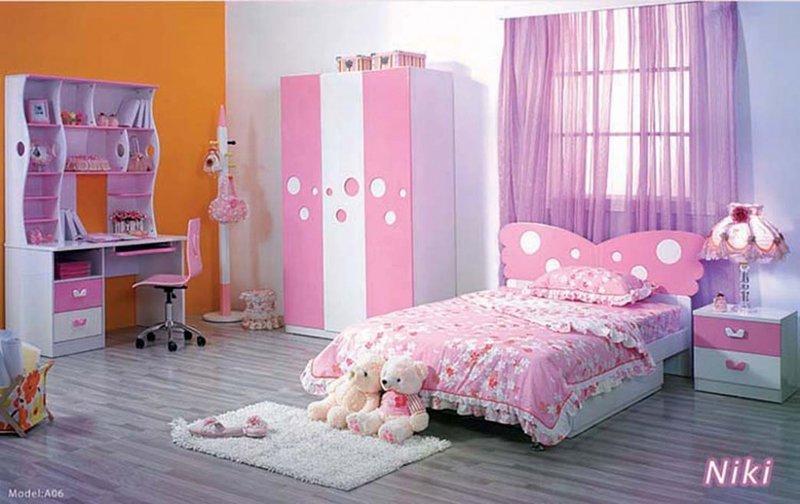 Спальная и детская комната дизайн