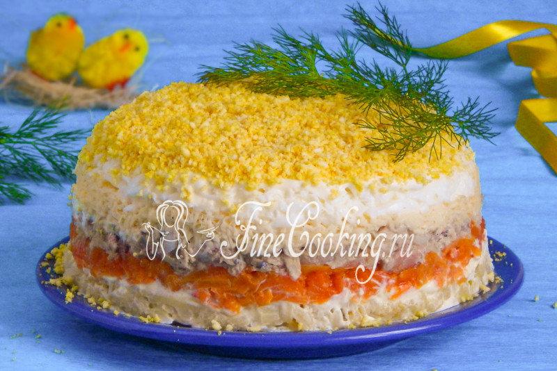 Салат мимоза рецепт с сыром пошаговый рецепт