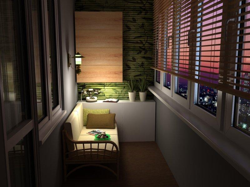 Дизайн квартир балкон