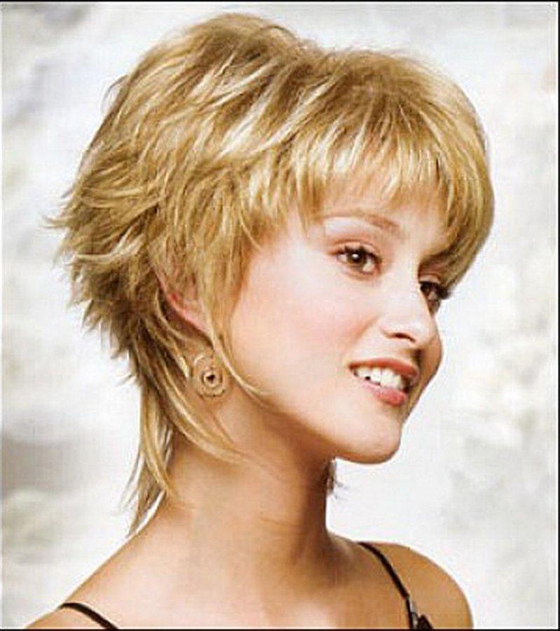 Короткие стрижки для тонких прямых волос