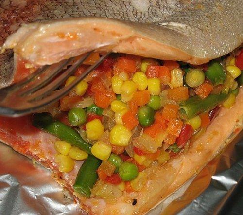 Рецепт замороженной рыбы в духовке