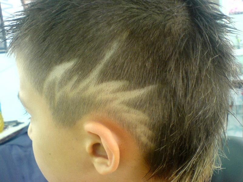 Узоры стрижки на голове для мальчиков все