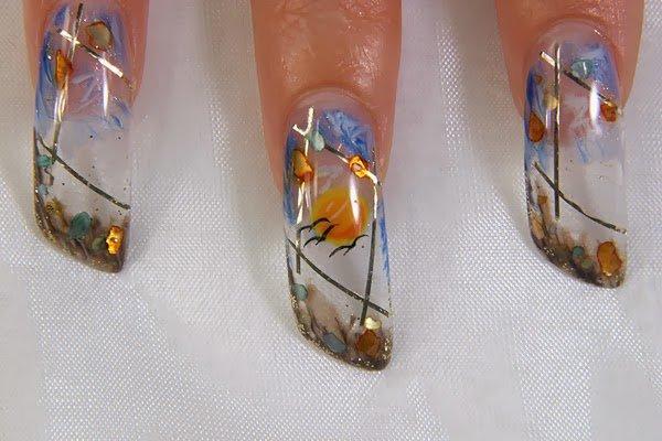 Аквариумные ногти как сделать 477