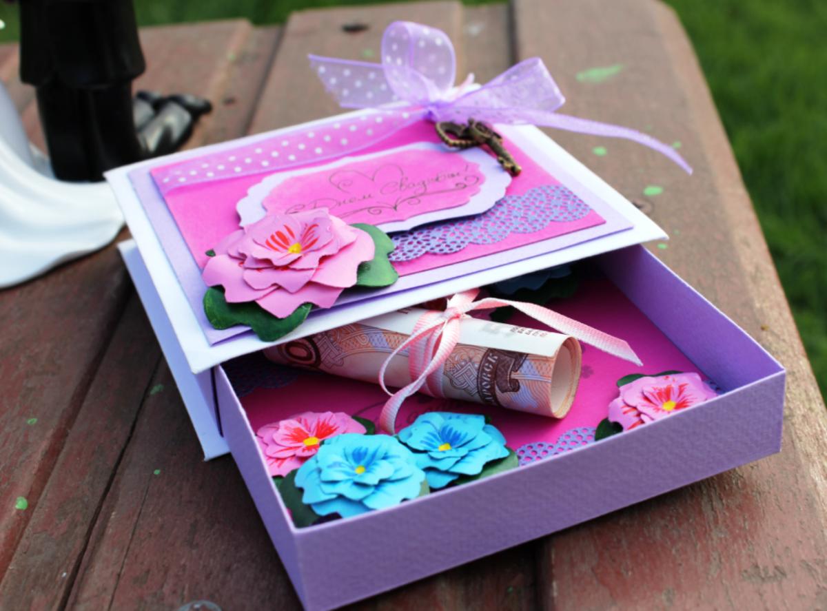 Подарки родным ко дню рождения своими руками