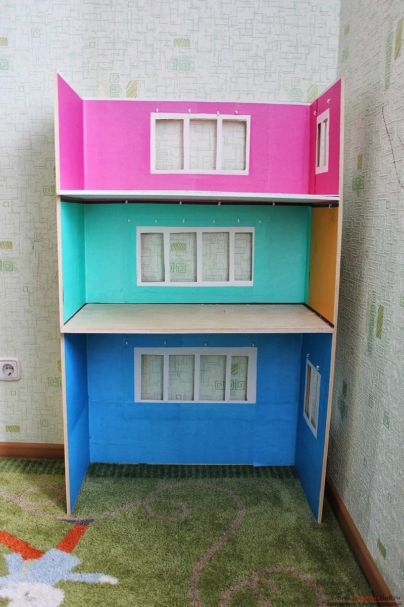 Делаем своими руками для кукол дом