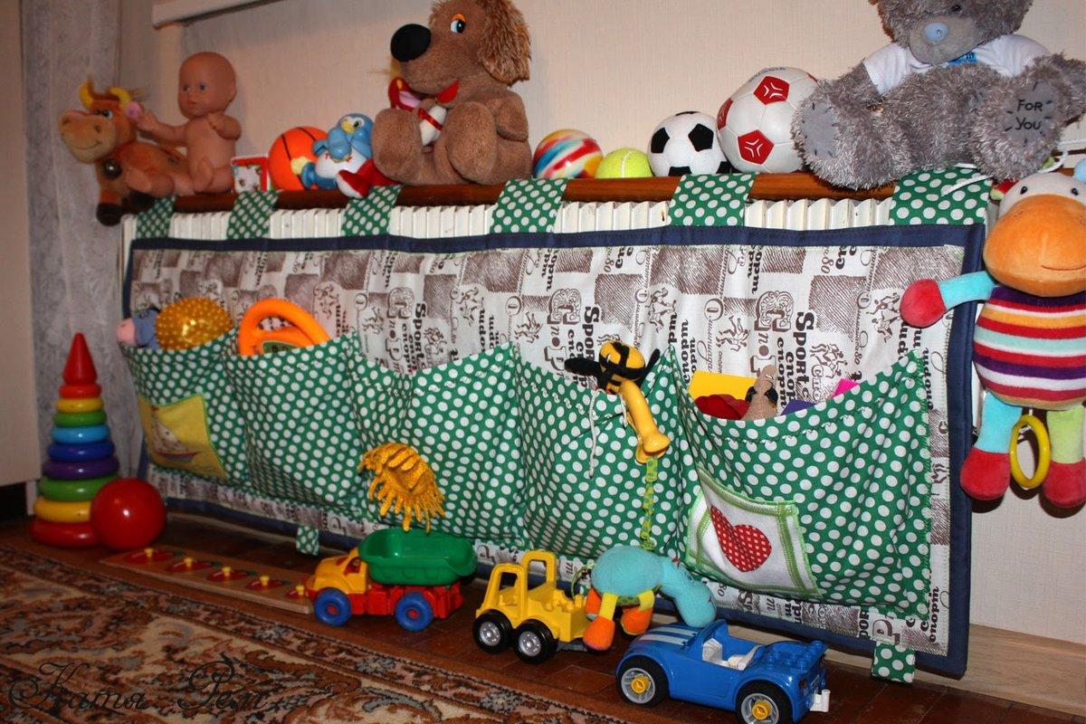 Организация хранения игрушек своими руками