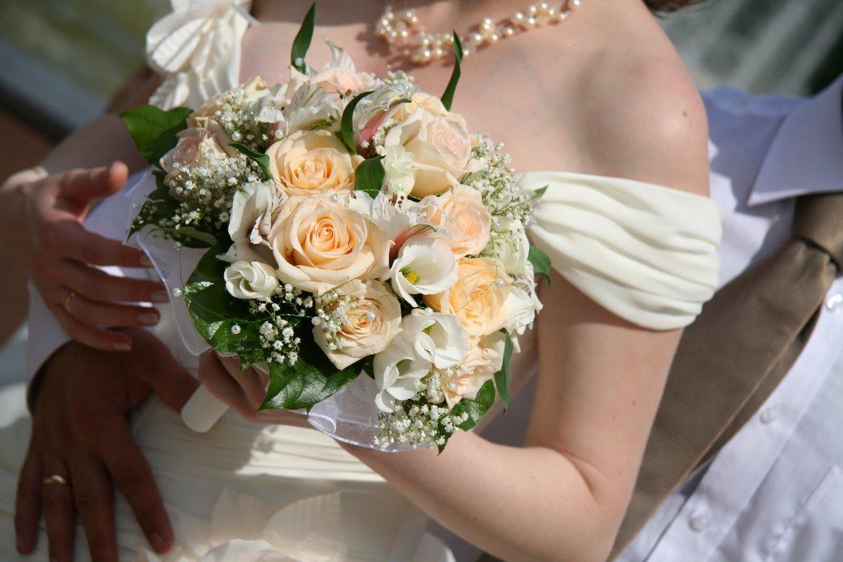 Открытки свадебный букет 53