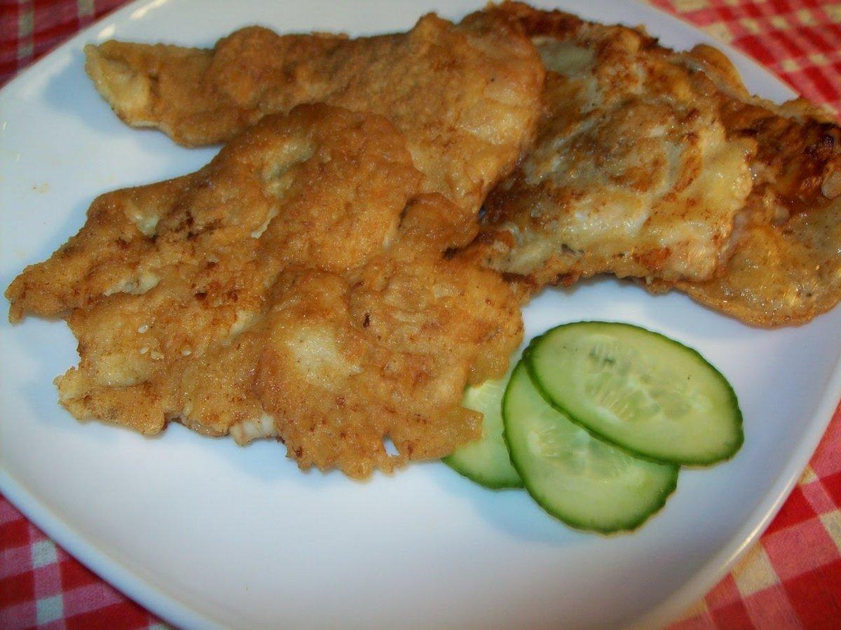 Филе курицы в кляре пошаговый рецепт