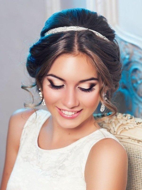 Греческий макияж для свадьбы