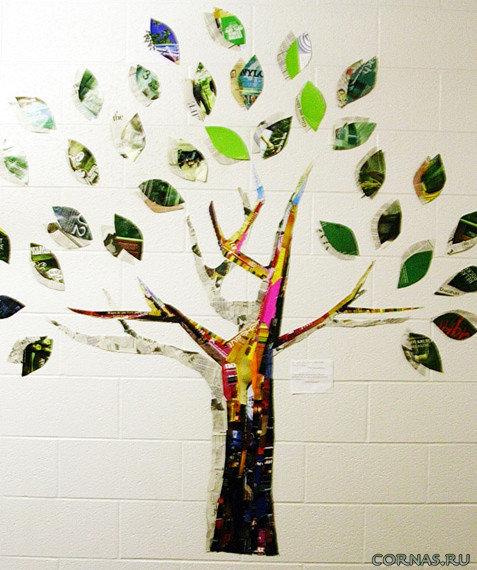 Как сделать дерево своими руками сграфиями