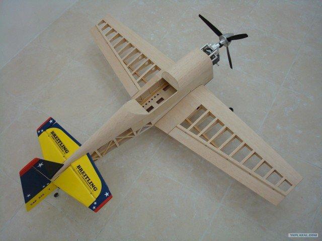 Как сделать деревянный летающий самолет