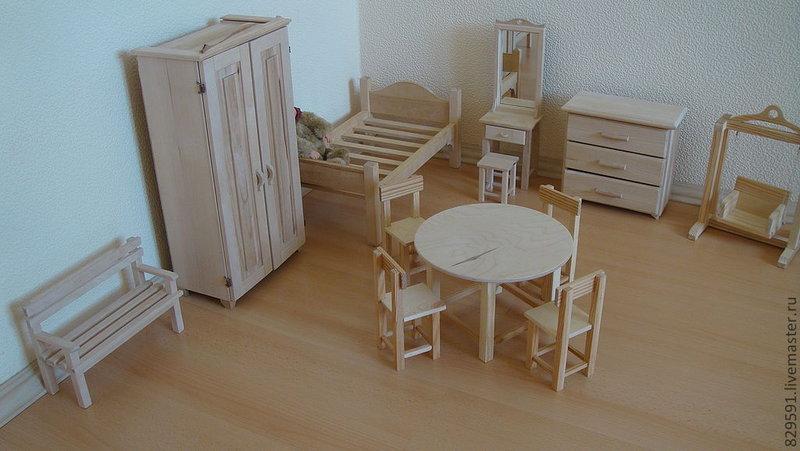 Мебель для больших кукол из фанеры своими руками