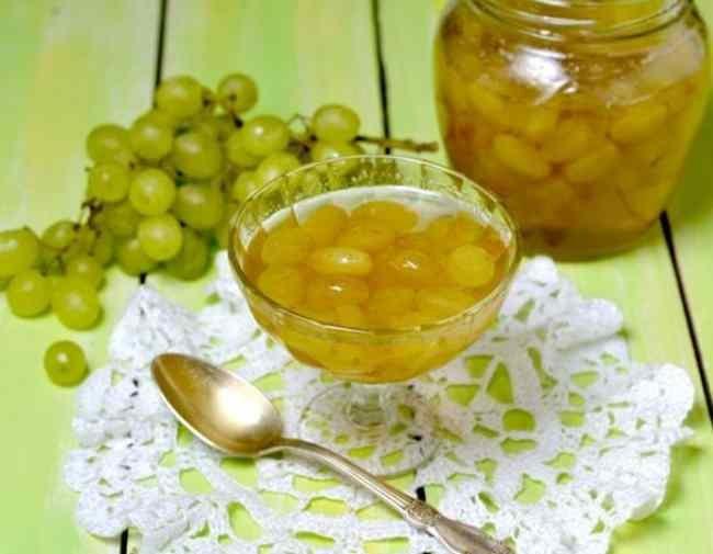 Варенье из винограда на зиму простой рецепт